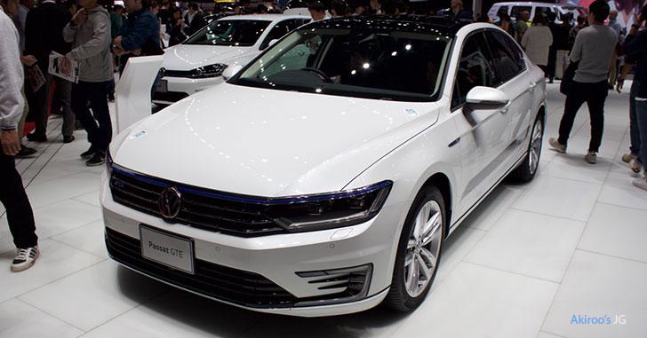 「VW Passat GTE Advance」のフロント