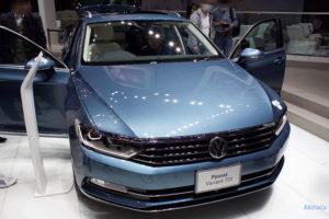 「VW Passat Variant TDI」のフロント