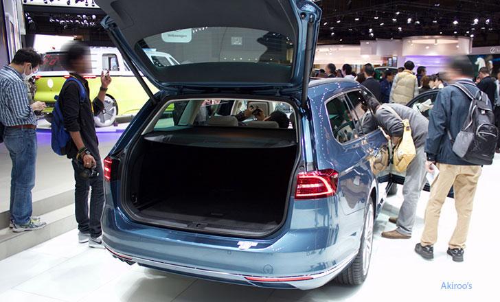 「VW Passat Variant TDI」のリア