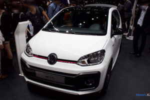 「VW up! GTI」のフロント