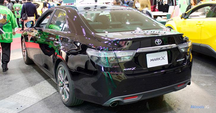 トヨタ・マークX 250 RDSのリア