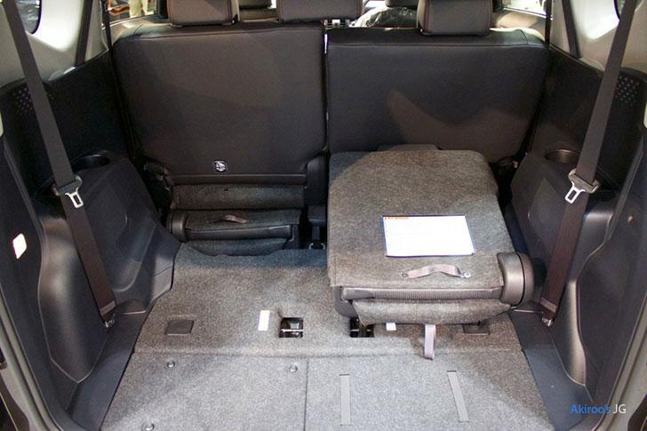 トヨタ・シエンタの荷室