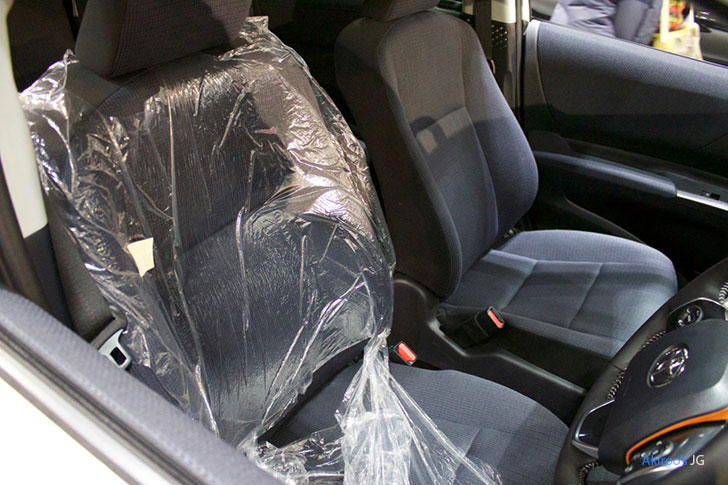 トヨタ・シエンタのシート