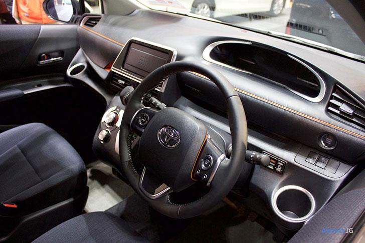 トヨタ・シエンタの内装