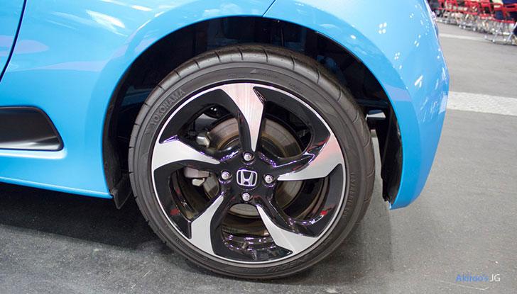 新型 ホンダ S660 αのホイール