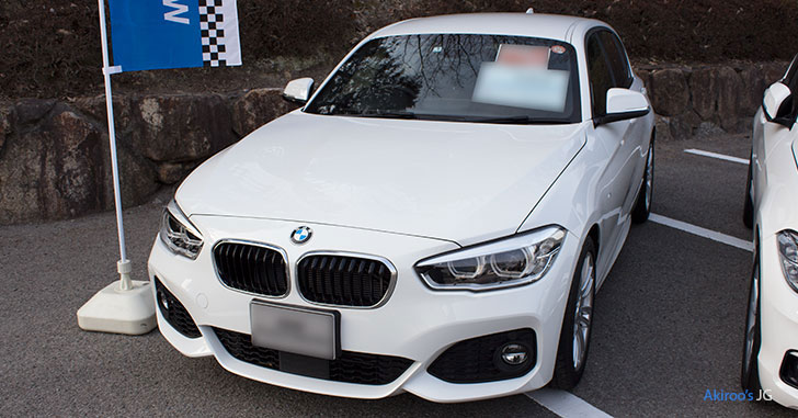 BMW 1シリーズ 118i M Sportのフロント