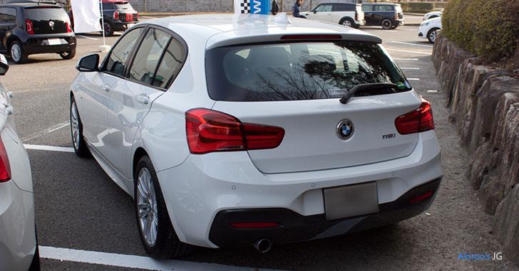 BMW 1シリーズ 118i M Sportのリア