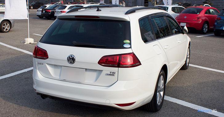 VW ゴルフ ヴァリアントのリア