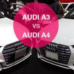 アウディA3とA4の違い